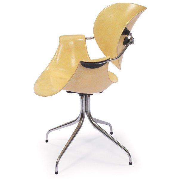 812: George Nelson MAA (Swag-leg) chair, Herman Miller