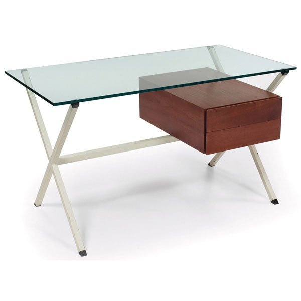 1011: Franco Albini desk, by Knoll, Italy, c.1958