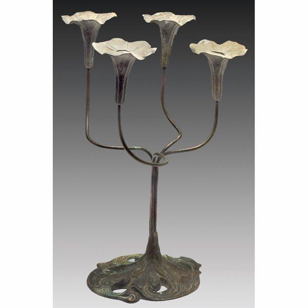 2: Jessie Preston candelabra, bronze