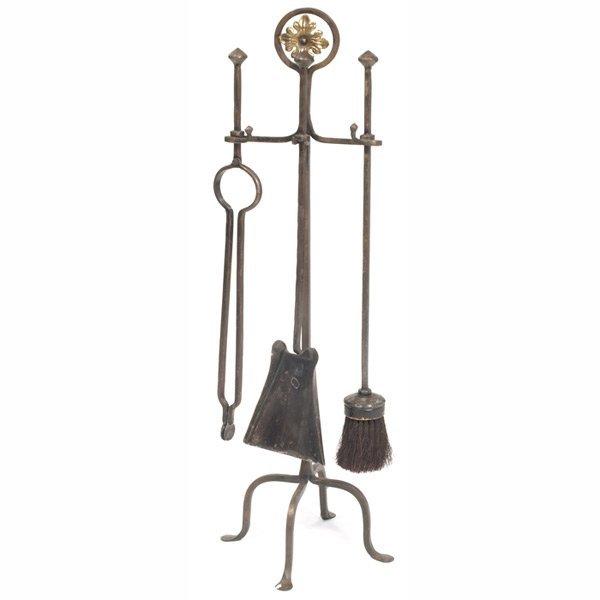 187: Arts & Crafts fire tools