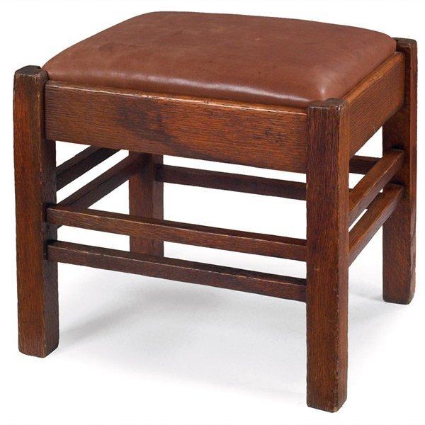 190: Arts & Crafts footstool