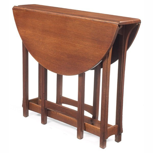 192: Lifetime drop-leaf table, from the Puritan line