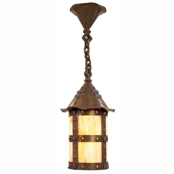 213: Arts & Crafts hanging lantern