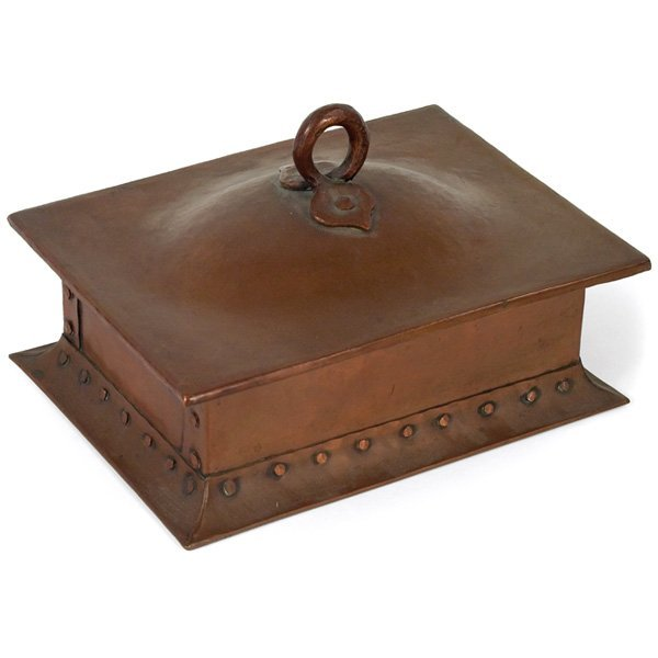 4: Gustav Stickley cigar box, #268