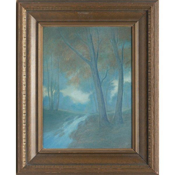 1: Rookwood plaque, Vellum glaze Ed Diers