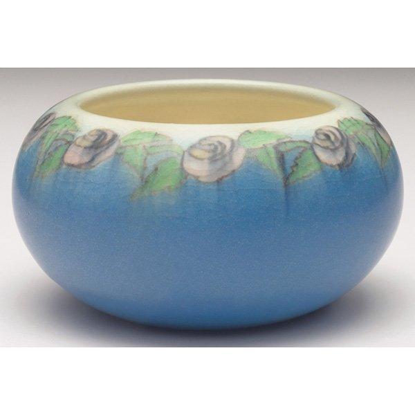 2: Rookwood bowl, Vellum glaze  Patti Conant