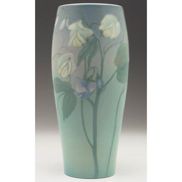 5: Rookwood vase, Vellum glaze Ed Diers
