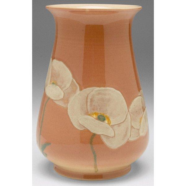 18: Rookwood vase, Porcelain glaze Kataro Shirayamadani