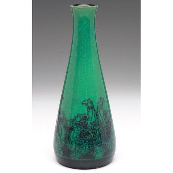 19: Rookwood vase, Turquoise Blue glaze Arthur Conant