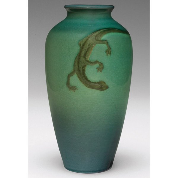 21: Rookwood vase, Sea Green glaze Matt Daly