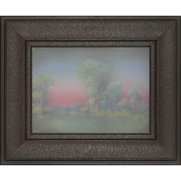 23: Rookwood plaque, Vellum glaze E.T. Hurley