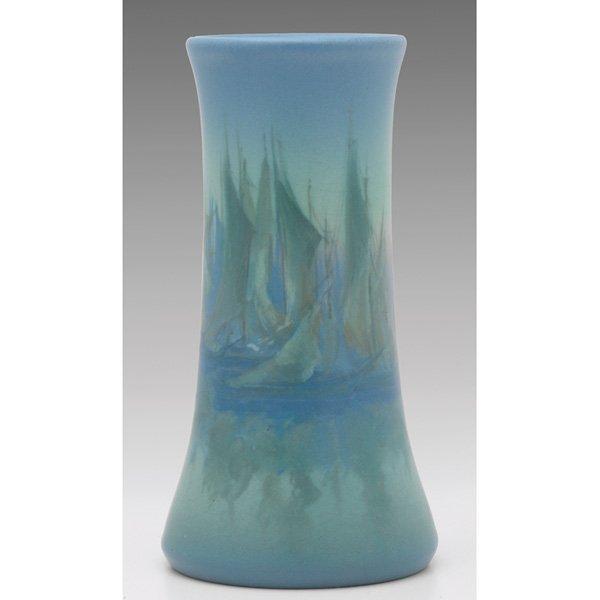 24: Rookwood vase, Vellum glaze Ed Diers