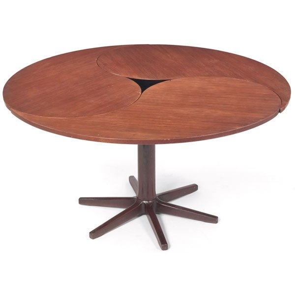 840: Peter Hvidt dining table, France & Son, John Stuar