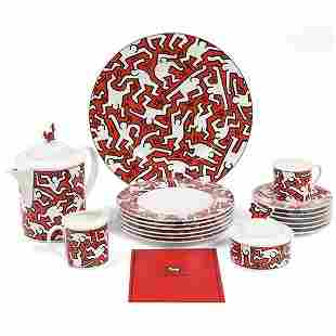 853: Keith Haring china, Villeroy & Boch, #890/1000