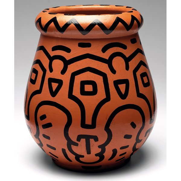 Keith haring vase large and broad form 811 keith haring vase large and broad form reviewsmspy