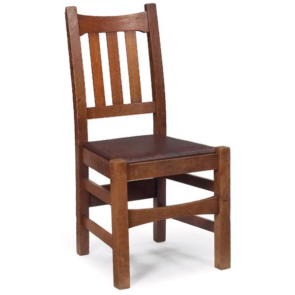10: Stickley Brothers side chair, #479