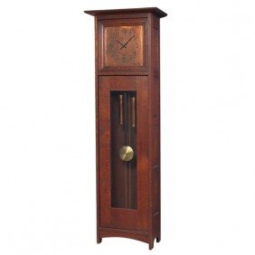 L And JG Stickley Tall Case Clock