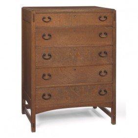 4: Limbert chest of drawers, #487 1/2,