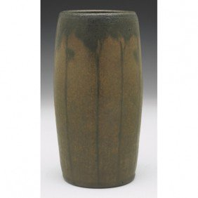 Marblehead Vase, Attribution, Tapered Shape Painted