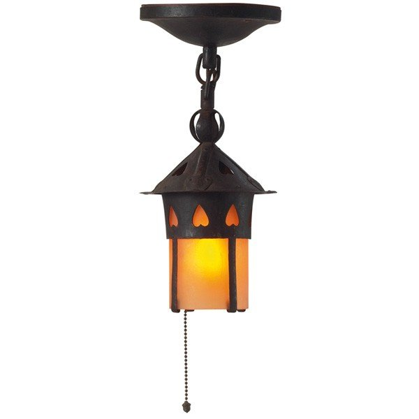 21: Gustav Stickley lantern, #304