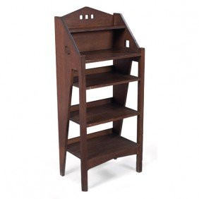23: Arts and Crafts magazine stand, possibly Lakeside C
