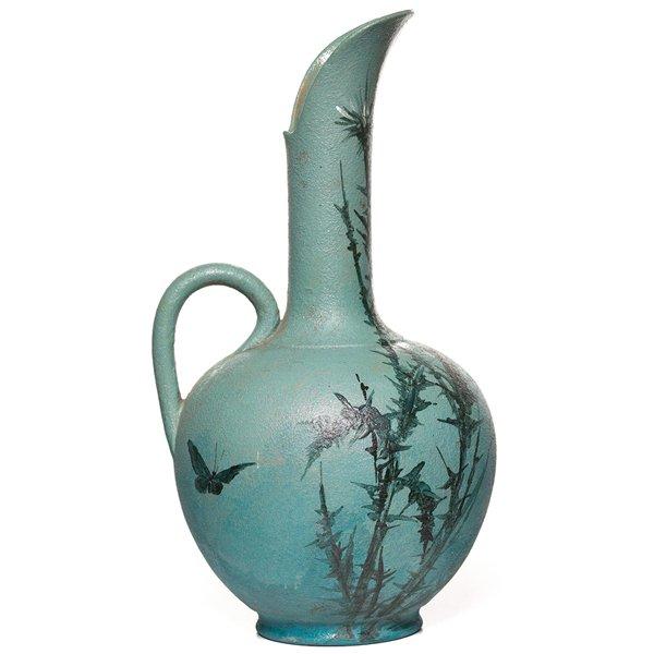 5: Rookwood vase, Laura Fry