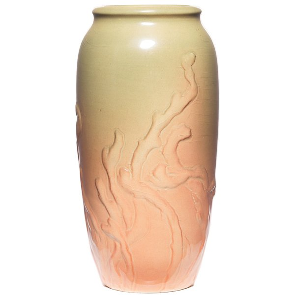 9: Rookwood vase, Iris glaze, Wareham