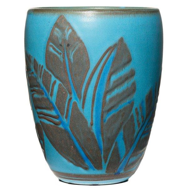 13: Rookwood vase, Elizabeth Barrett