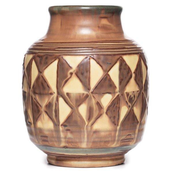 14: Rookwood vase, Elizabeth Barrett