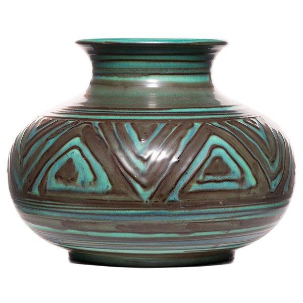 15: Rookwood vase, Elizabeth Barrett