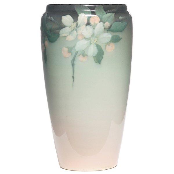 22: Rookwood vase, Iris glaze Lenore Asbury