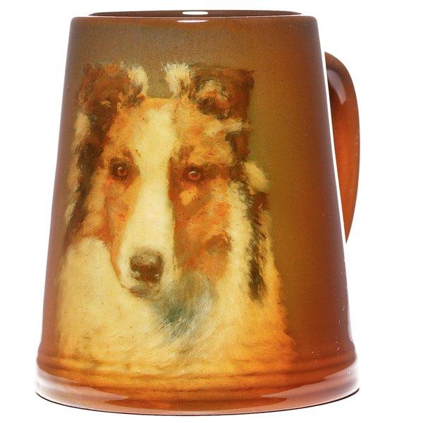 85: Rookwood mug, Standard glaze, Grace Young