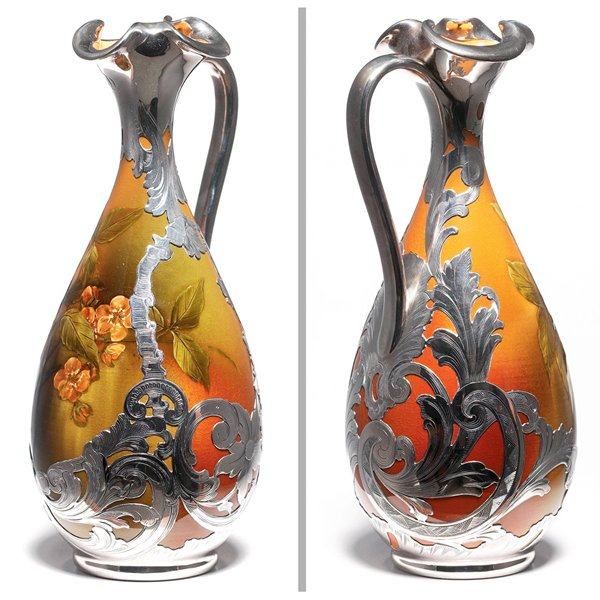 87: Rookwood ewer, Standard glaze, Josephine Zettel