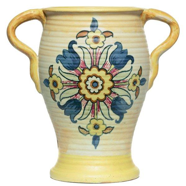683: Weller Barcelona vase, double handled