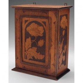 4: Cincinnati Art Carved box, attribution, nicely execu