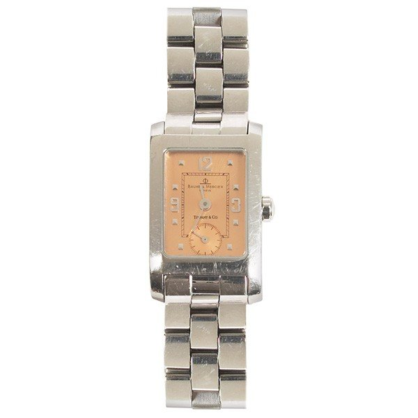 808: Baume & Mercier Tiffany & Co Hampton watch