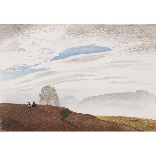 "8: Hans Frank ""Herbstabend (Autumn Evening),"" 1921, col"