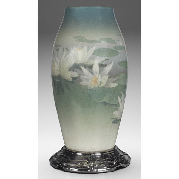 135: Rare and Important Rookwood vase, direct from the