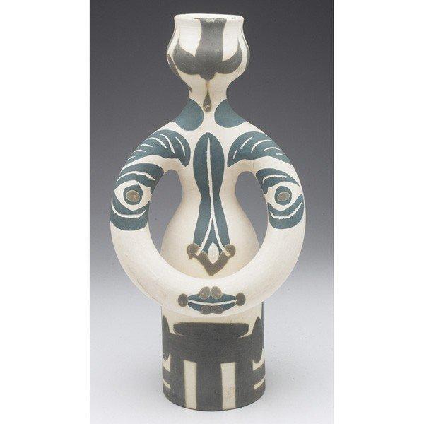 "332: Pablo Picasso (Spanish, 1881-1973), ""Woman Lamp,"""