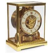"788: LeCoultre ""Atmos"" Perpetual Motion mantle clock"