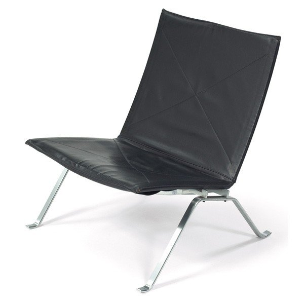 865: Poul Kjaerholm PK22 chair, by Fritz Hansen