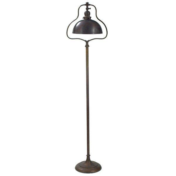 198: Handel Floor Lamp, Harp Base