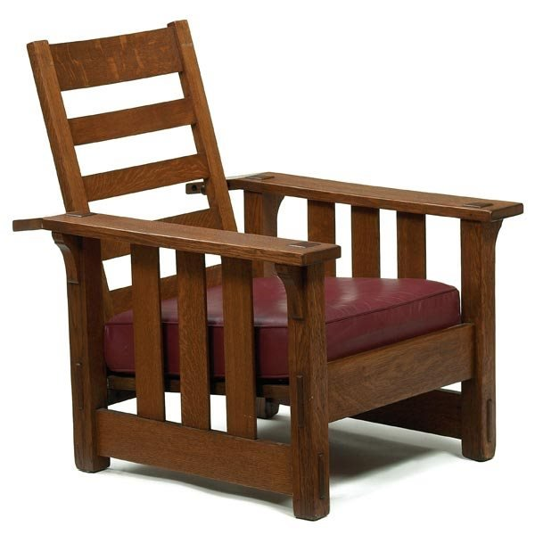 005: Stickley Brothers Morris chair, #631 1/2