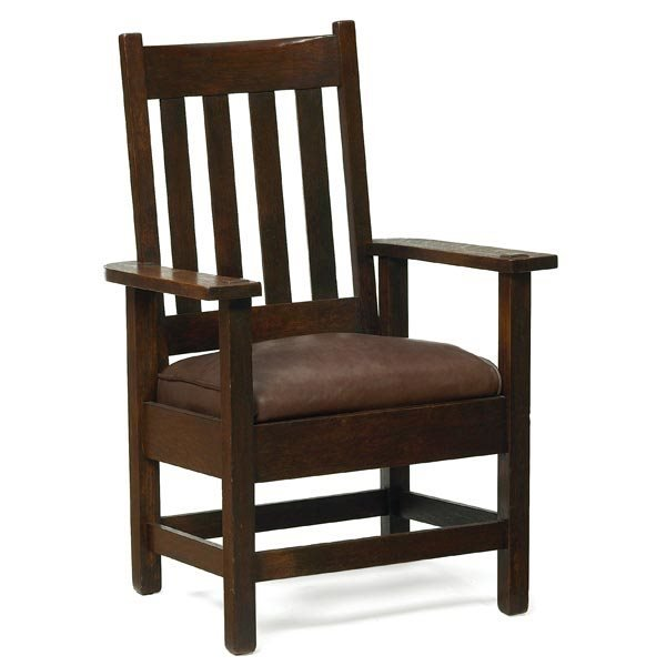 007: Stickley Brothers armchair, #891 1/2