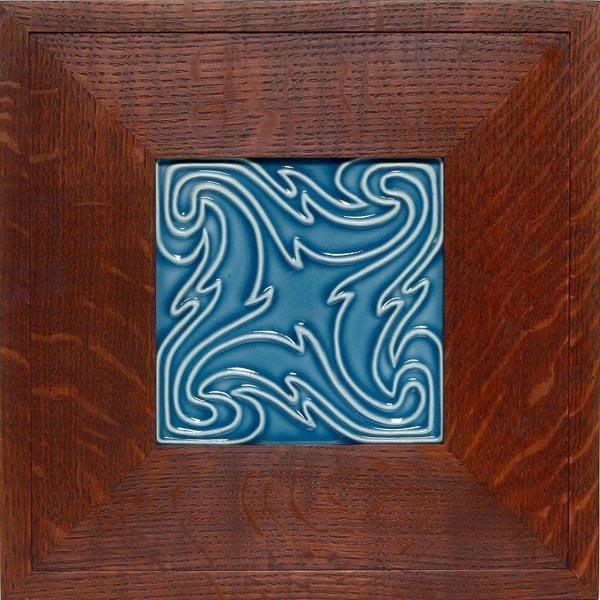 011: Rookwood tile, swirling design