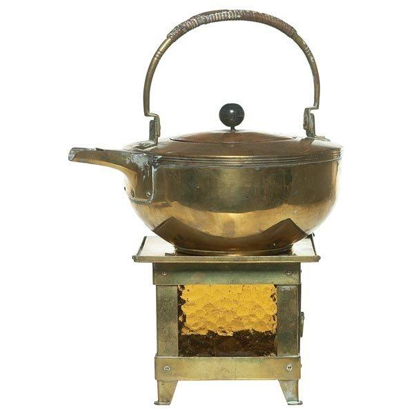 015: Jan Eisenlöffel teapot and burner