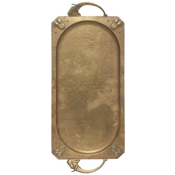 016: WMF tray, hammered copper