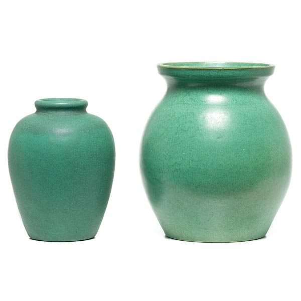 020: Teco vase, designed by W.D. Gates
