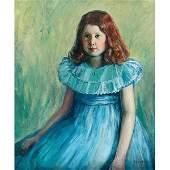 684: John Wesley Hardrick, Portrait, oil