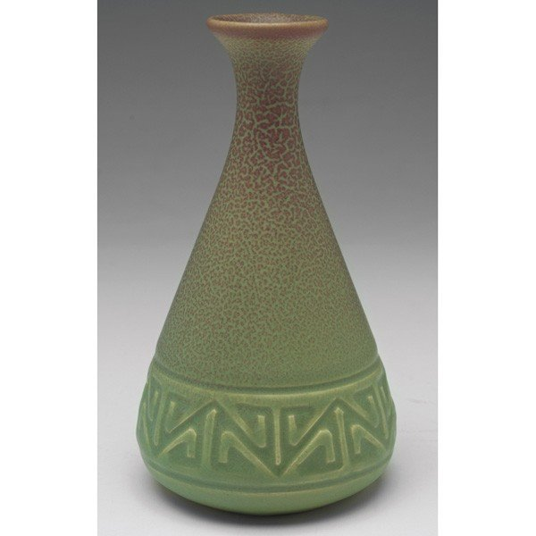 16: Rookwood vase, flaring bottle